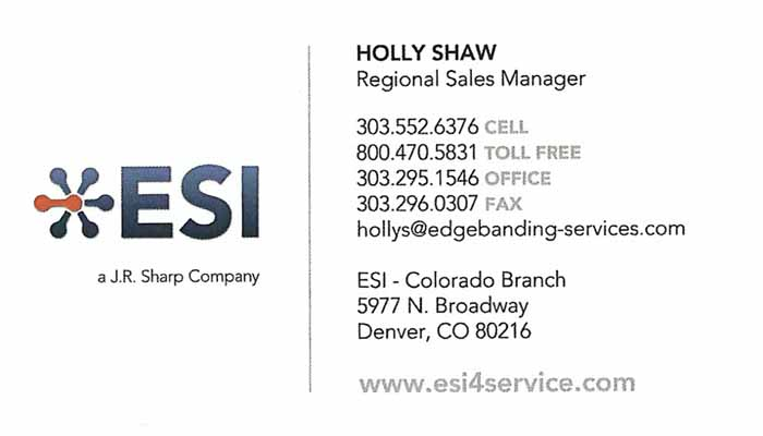 Holly Shaw Regional Sales Manager
